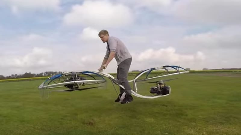 Colin Furze built a working hoverbike