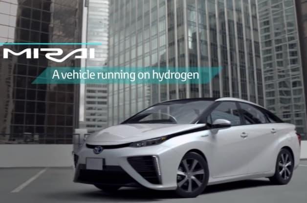 2016 Toyota Mirai in White