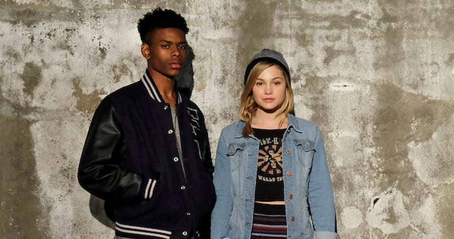 "MARVEL'S CLOAK & DAGGER - Freeform's ""Marvel's Cloak & Dagger"" stars Aubrey Joseph as Tyrone Johnson/Cloak and Olivia Holt as Tandy Bowen/Dagger. (Freeform/Alfonso Bresciani)"