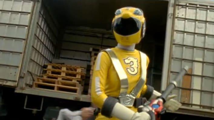 Power Rangers Rpm Yellow Ranger Power Rangers Rpm