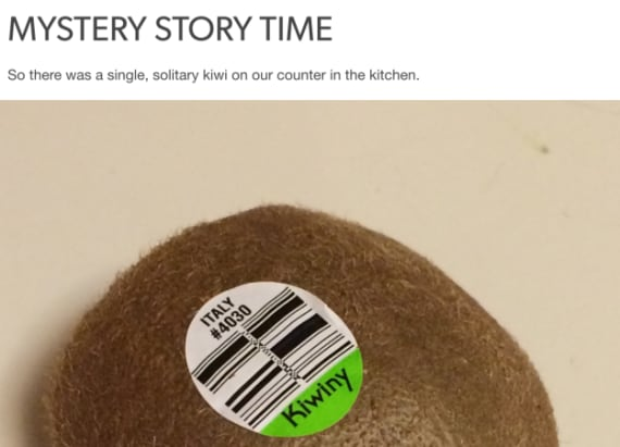 Kiwi mystery is driving the internet crazy