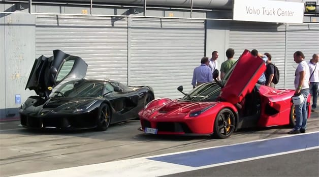Video proof that LaFerrari has a pure electric mode