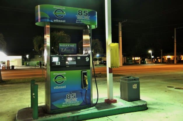 e85 ปั๊มก๊าซเอทานอล