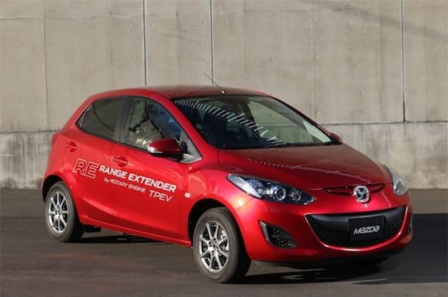 Mazda2 RE Plug-in hybrid