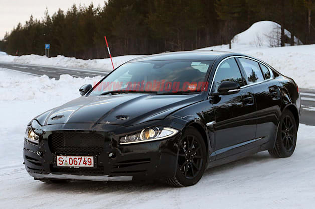 2015 Jaguar XS test mule