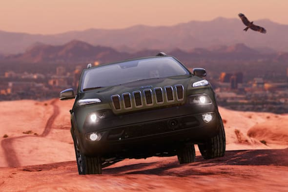 jeep cherokee warrior