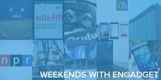 Weekends with Engadget