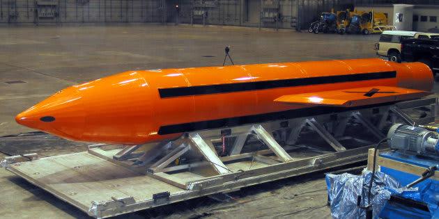 Reportan a 36 yihadistas muertos por 'madre de todas las bombas'