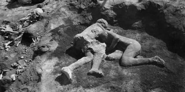 Descubren que 'los amantes' de Pompeya eran hombres