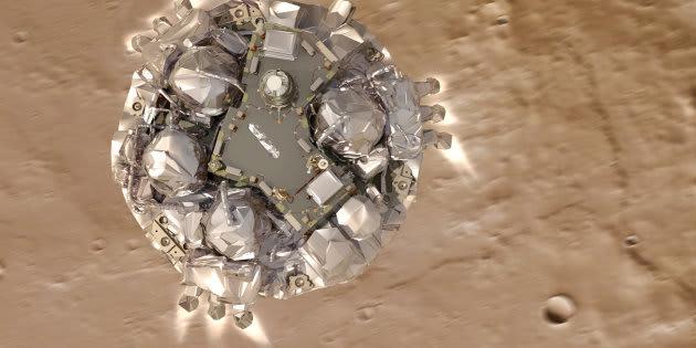 L'ESA sait pourquoi Schiaparelli s'est crashé sur MArs