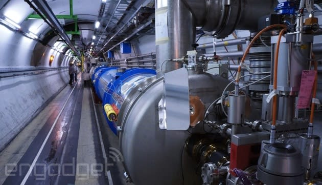 CERN's letting everyone look at its Large Hadron Collider data