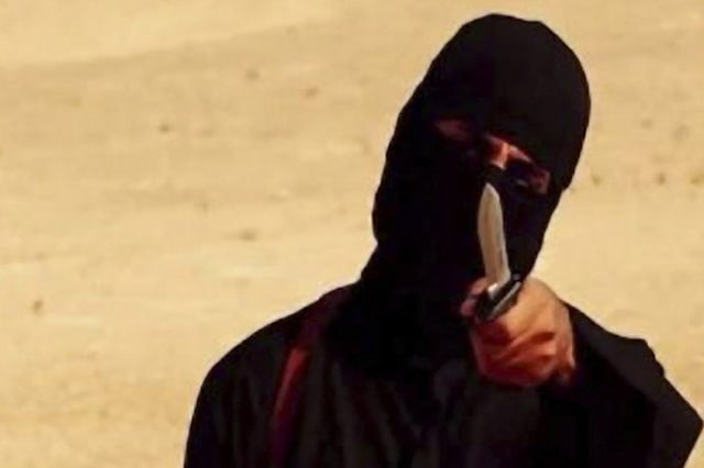 The militant known as 'Jihadi John'