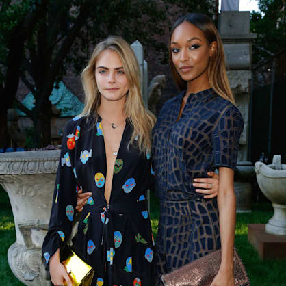 Watch Cara Delevingne and Jourdan Dunn get matching tattoos