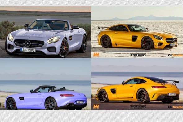 AMG GT, AMG GT S, Auto salon Paris, Bilder, Biturbo, c 190, c190, debüt, debut, erlkönig, gallery, gt, GT S, Mercedes AMG GT S, mercedes gt amg, mercedes-amg gt, Mercedes-AMG GT Roadster, mercedes-benz, Motor, offiziell, pics, Rendering, revealed, Roadster