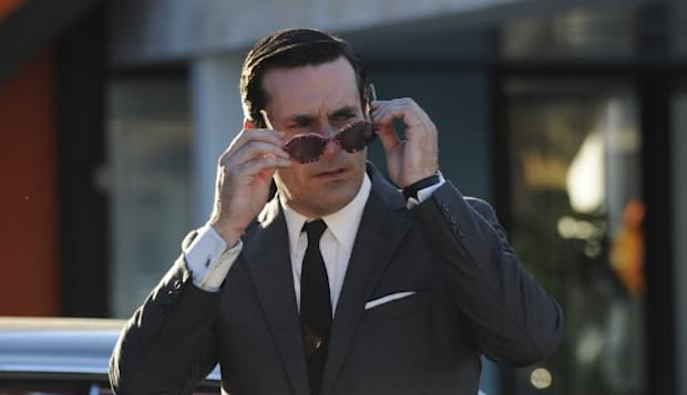 Os looks da série Mad Men (Don Draper)