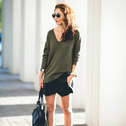 Street style tip of the day: Asymmetry