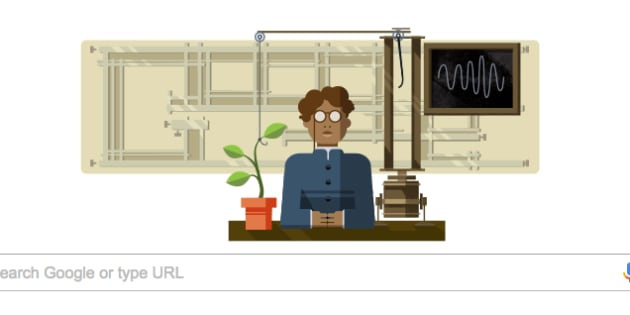 Google doodle celebrates scientist Jagdish Chandra Bose