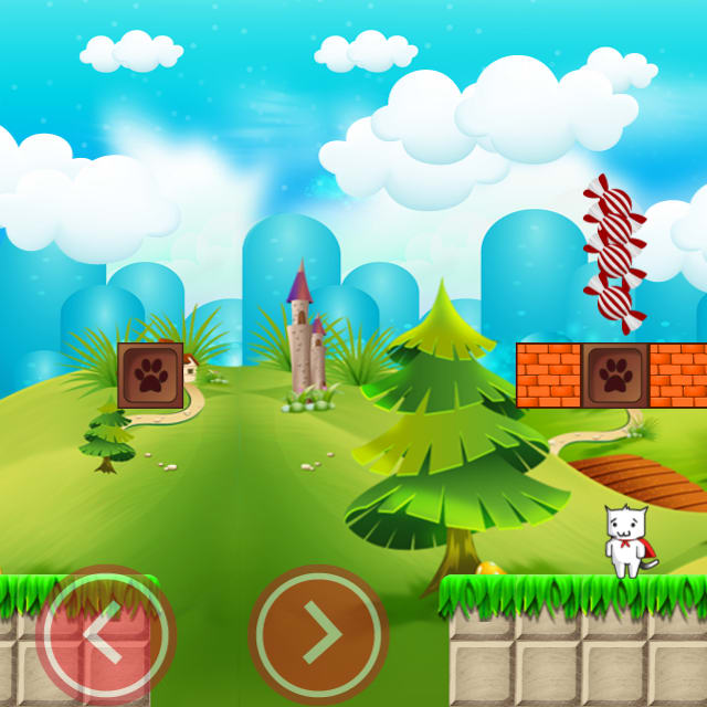 Players navigate through a harsh but fun platforming environment in Super Kitty