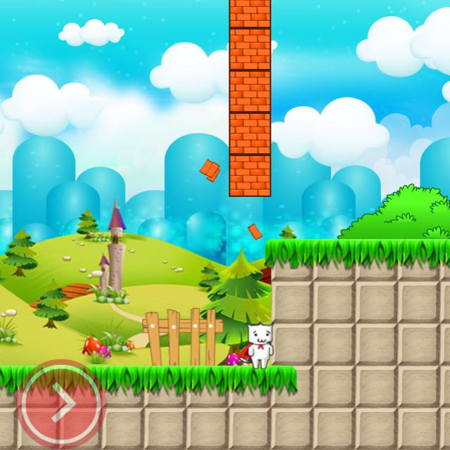 Players bash blocks in Super Kitty