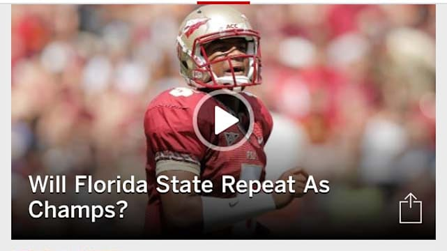 ESPN Scportscenter screenshot