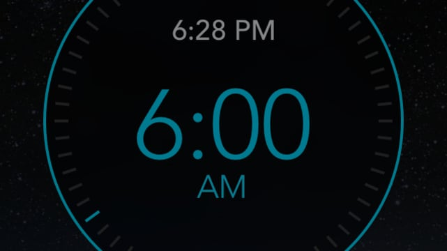 Gentle Wake Alarm Clock screenshot