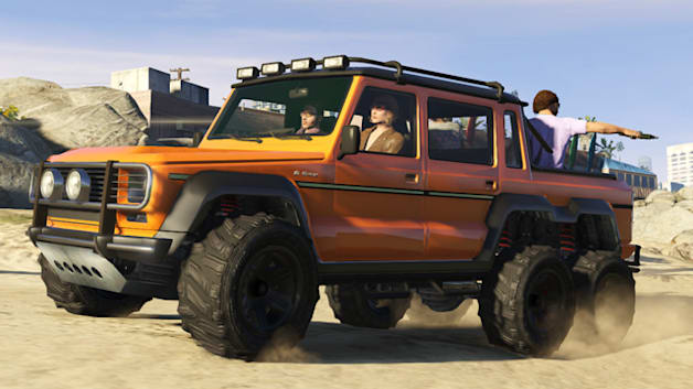 Grand Theft Auto V: I'm Not a Hipster Update