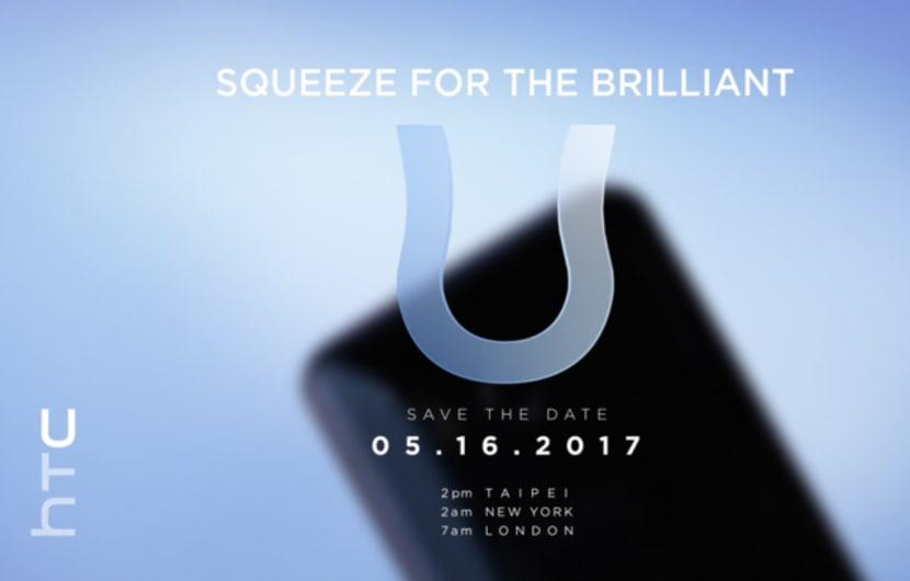 HTC stellt HTC U am 16. Mai vor
