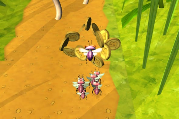 Bugs vs Aliens screenshot