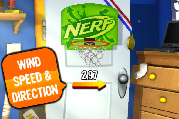 Embrace a lack of productivity by scoring big in Nerf Hoops