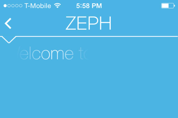 Zeph screenshot