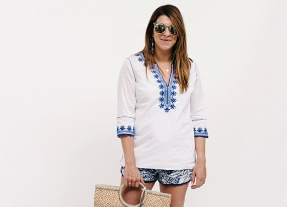 Street style tip of the day: Summer blues