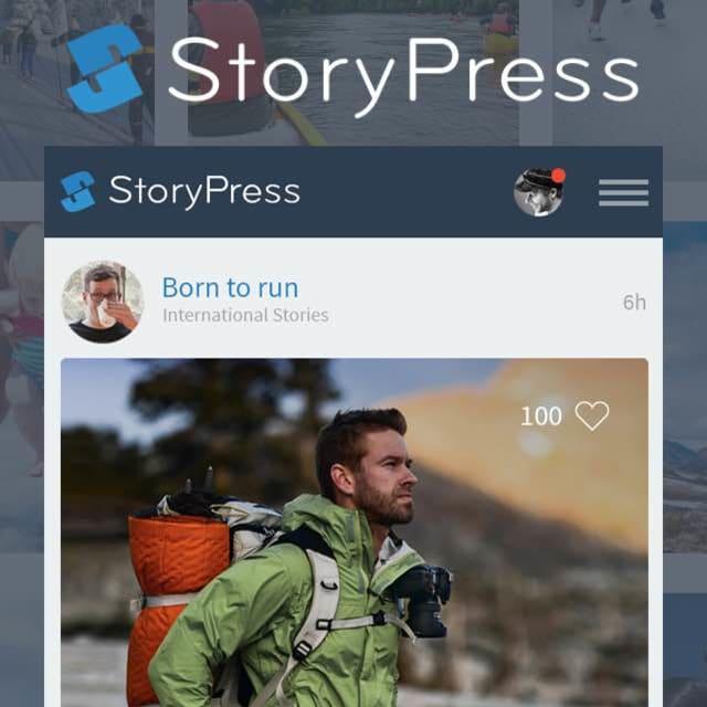 StoryPress screenshot