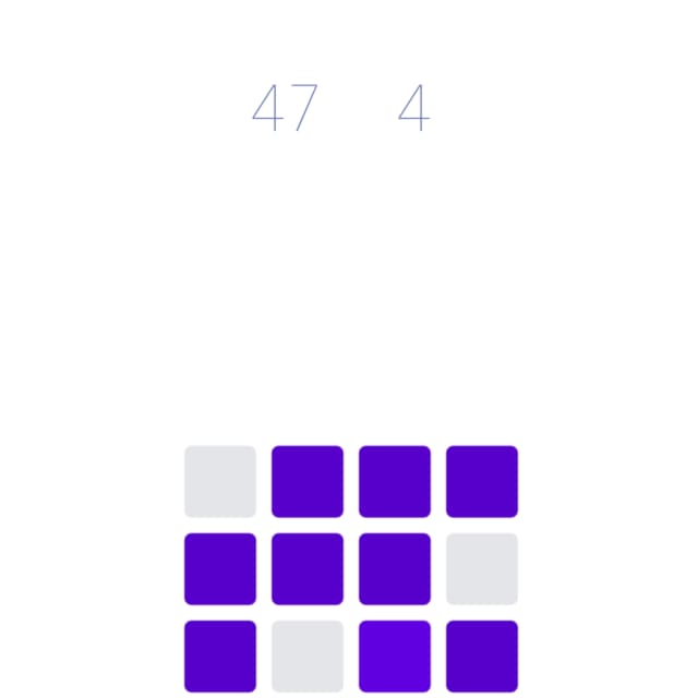 Cubes Challenge gradually adds more rows of cubes to create a stronger optical illusion