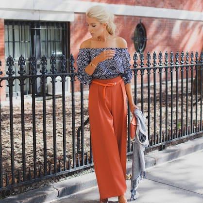 Street style tip of the day: Orange crush