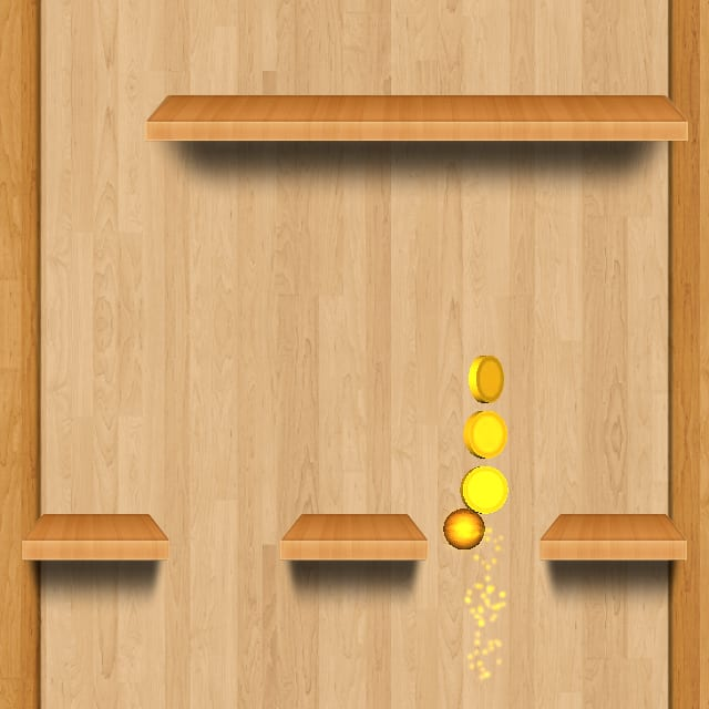 Players get power ups which boost them through obstacles in BOLLS