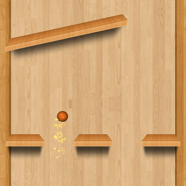 Players navigate a ball through obstacles in BOLLS