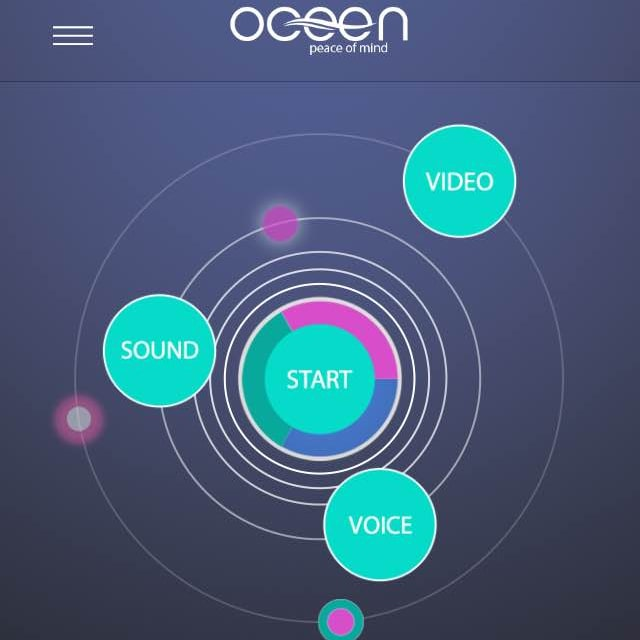 Oceen relaxation app