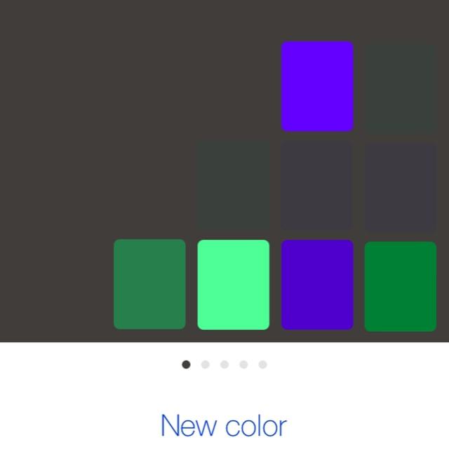 ColorFit Color Selections