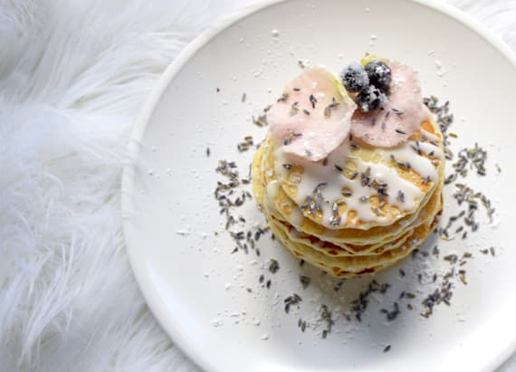 Are these the most luxurious pancakes ever?