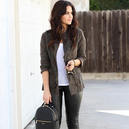 Street style tip of the day: Leggings have new rules