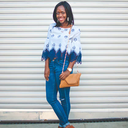 Street style tip of the day: Fall festivals
