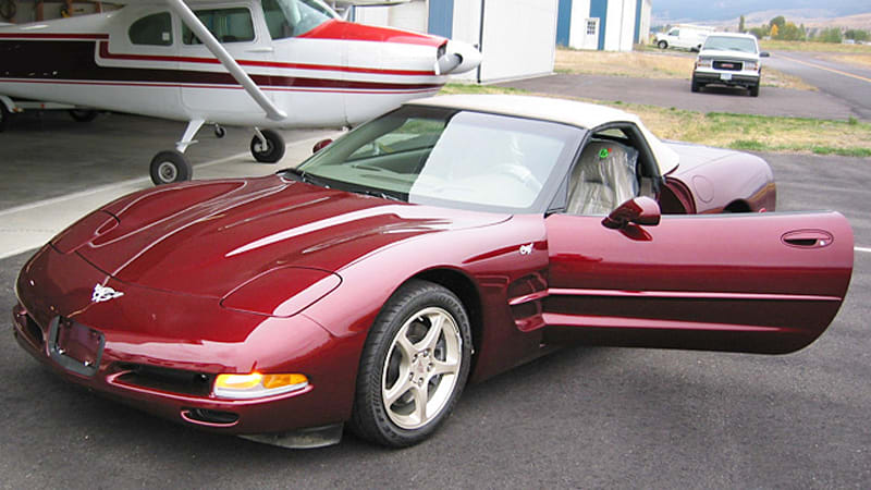 With only 57 miles, this is essentially a brand-new 2003 Corvette