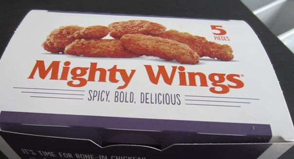 McDonald's Mighty Wings Bone-In Chicken