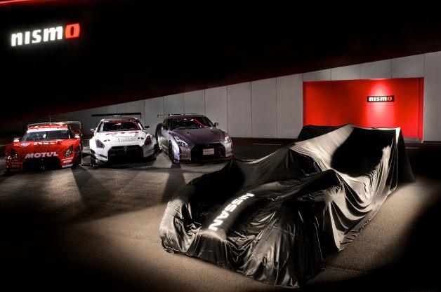 Nissan Le Mans race car