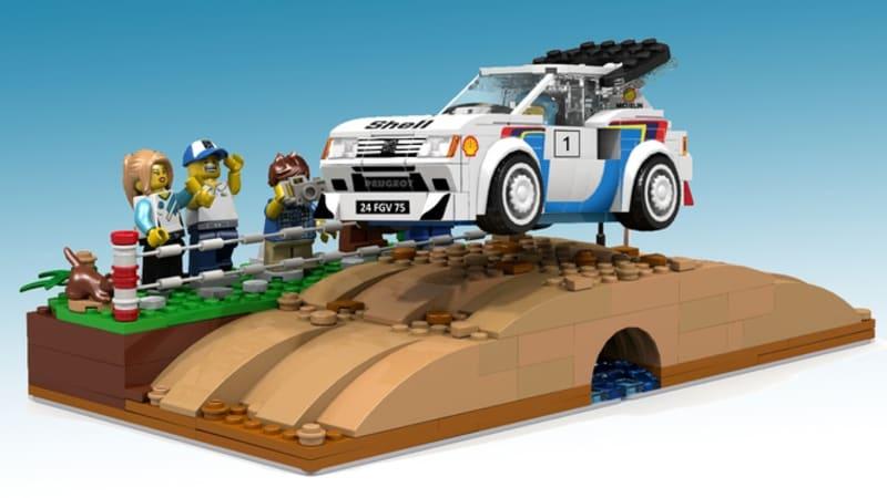 Lego Peugeot 205 Turbo 16