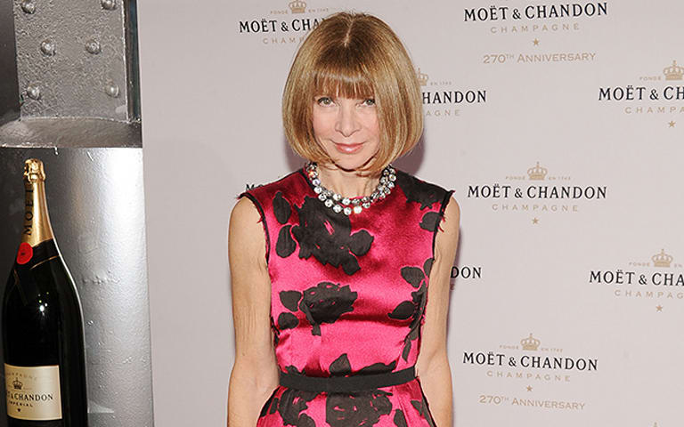 Anna Wintour accepts the ALS ice bucket challenge and it is epic