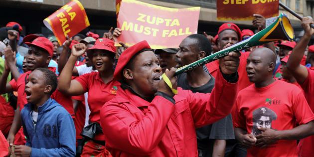 Anti-Zuma marchers shift attention to 'state-captured' Limpopo Treasury