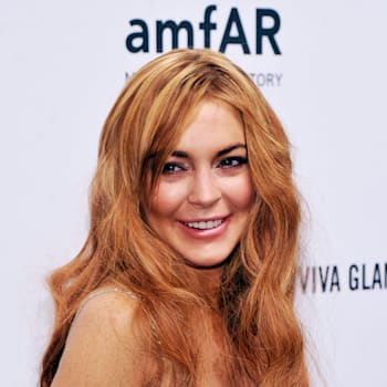 NEW YORK, NY - FEBRUARY 06:  Lindsay Lohan attends the amfAR New York Gala to kick off Fall 2013 Fashion Week at Cipriani Wall Street on February 6, 2013 in New York City.  (Photo by Stephen Lovekin/Getty Images for Mercedes-Benz Fashion Week)