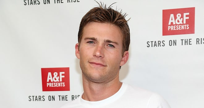 Scott Eastwood at The Grove on July 11, 2013