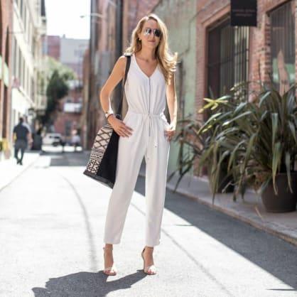 Street style tip of the day: Weekend getaway